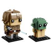 樂高積木LEGO BrickHeadz系列 41627 星際大戰 天行者路克&尤達