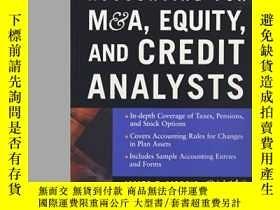 二手書博民逛書店Accounting罕見For M&a Equity And C