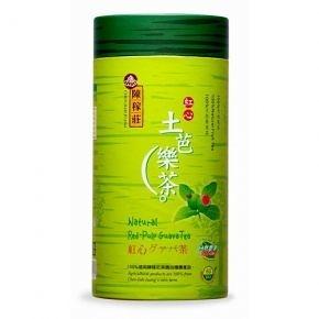 陳稼莊~天然紅心土芭樂茶300公克/罐