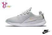NIKE VIALE 慢跑鞋 女款 網眼透氣 綁帶運動鞋O7256#灰色◆OSOME奧森鞋業