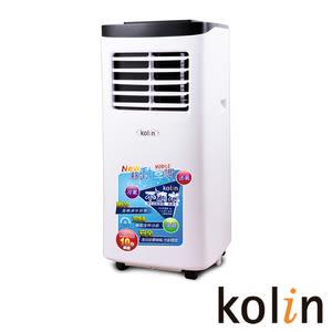 KOLIN歌林不滴水4-6坪冷氣除濕移動式空調8000BTU KD-201M03