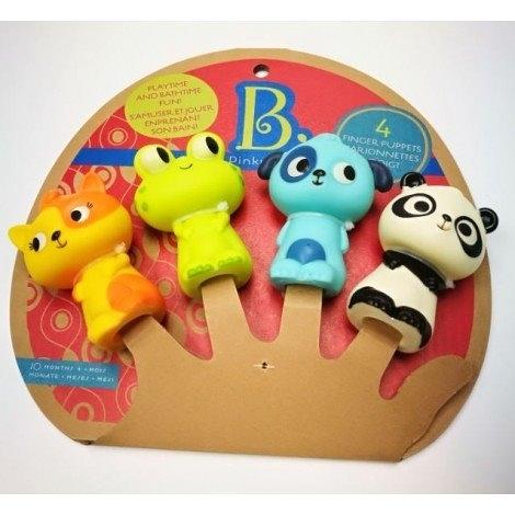 《 美國 B.toys 感統玩具 》手指偶劇團-肚咕小組 / JOYBUS玩具百貨