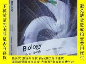全新書博民逛書店BiologyLife on Earth with ysiology(Eleventh Edn)【Global E