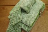 【新帛毛巾】微絲開纖紗系列-彩條浴巾2入