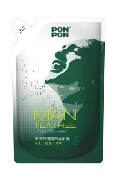 澎澎MAN香浴乳補充包-茶樹精油700g【屈臣氏】
