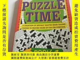 二手書博民逛書店PUZZLE罕見TIME BOOK 3(英文)Y200392 p