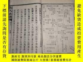 二手書博民逛書店罕見民國十七年湖南益陽《張氏五修族譜》(存卷末上下一冊)1289