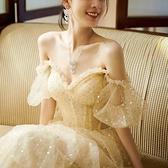 禮服 晚禮服女新款成人禮生日宴會優雅氣質性感顯瘦連衣裙長款夏