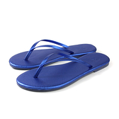 MALVADOS LUX 萊絲系列 夾腳拖 人字拖 拖鞋 雨天 藍色 女鞋 4002-2172 no028