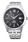 [Y21潮流精品] 新款!ORIENT 東方錶 Classic Design系列 日期顯示機械錶 黑色 鋼帶款 FAL00002B