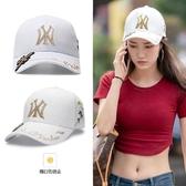 帽子女網紅款韓版潮鴨舌帽夏天薄款ins 女百搭遮陽防曬棒球帽 陽光好物