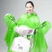 致富家電動車雨衣單人加大厚男女成人摩托電瓶自行車騎行防水雨披  西城故事