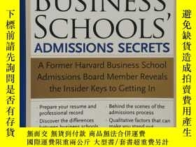 二手書博民逛書店英文原版罕見The BEST USINESS,SCHOOLS A