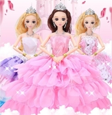 眨眼芭比娃娃換裝洋娃娃套裝禮盒玩具【奇趣小屋】
