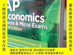 二手書博民逛書店Cracking罕見the AP Economics Macro