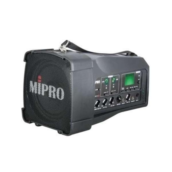 【肩掛式無線喊話器出租50W】行動擴音機出租MIPRO MA-100SB 攜帶式教學機 附無線麥克風*1 會場展售