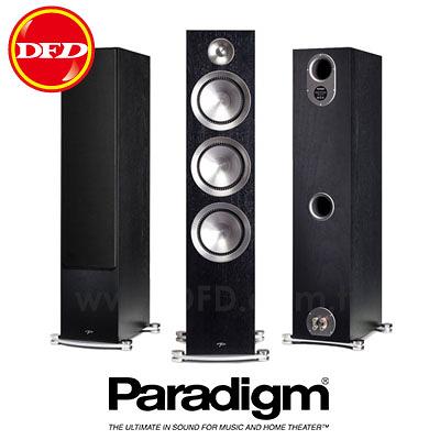 (新品預購) 加拿大 Paradigm PRESTIGE 75F 黑胡桃 Black Walnut 落地型劇院喇叭 公司貨