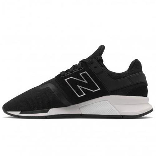 New Balance 247 男鞋 休閒 網布 透氣 輕量 黑【運動世界】MS247GI