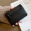 真皮零錢包-大容量牛皮軟皮拉鍊女鑰匙包 AngelNaNa (SMA0310)