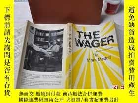 二手書博民逛書店1975年,英文原版,The罕見Wager: A Play In