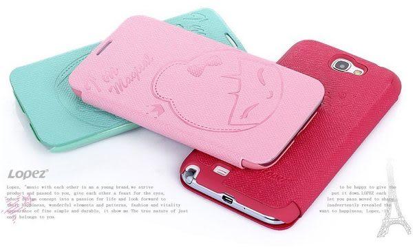 S4免運現貨 三星GALAXY S4皮套 i9500 note2 7100 Lopez小魔女精美 手機套 保護皮套