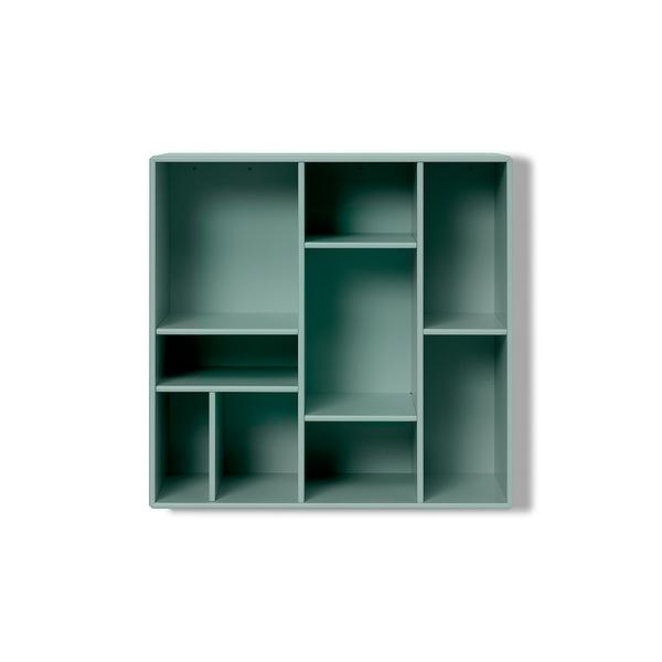 Montana Compile Small Bookshelf with Decorative Divisions 迷宮系列 九格 壁面收納系統 - 壁掛式