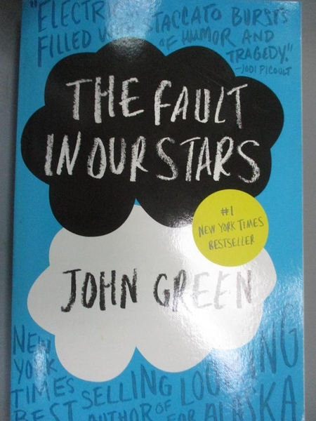 【書寶二手書T1/原文小說_OBP】The Fault in Our Stars_John Green