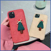 蘋果 iPhone 11 Pro Max XR XS MAX iX i8+ i7+ 蝴蝶結聖誕樹 手機殼 毛絨 保護殼