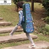 吉他袋 212326寸加厚尤克里里包烏克麗麗小吉他琴包雙肩學生背包 DR21712【男人與流行】