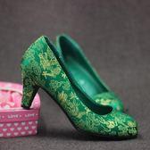 孕婦鞋高跟低跟禮服鞋婚宴敬酒鞋