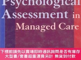 二手書博民逛書店Psychological罕見Assessment in Managed Care(英文原版)Y4639 Ch