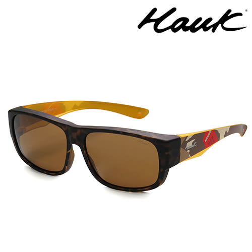 HAWK偏光太陽套鏡(眼鏡族專用)HK1010UK-TC