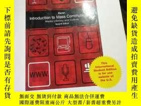 二手書博民逛書店Introduction罕見to Mass Communicat