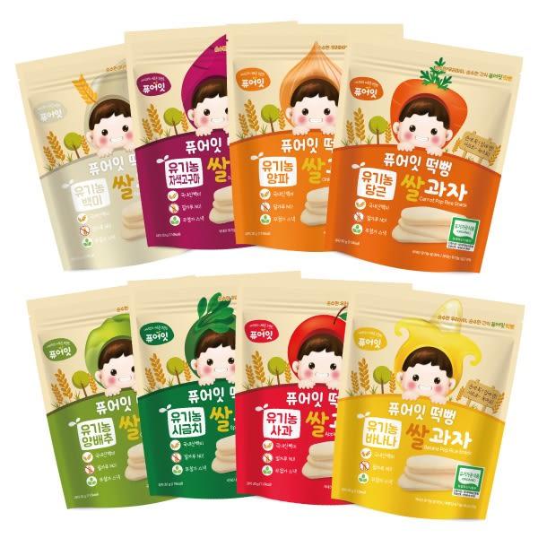 韓國 NAEBRO 米糕爆米花30g(8款可選)(6-7個月以上適用) (韓國進口)寶寶餅乾/米餅/爆米花
