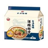 【台酒TTL】台酒麵攤-酒燉排骨風味湯麵-袋裝(5包/袋)