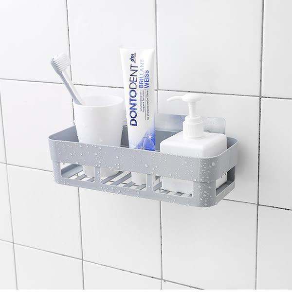 浴室用品 日式多功能無痕置物架 衛浴 廁所 免鑽孔【CUA031】收納女王