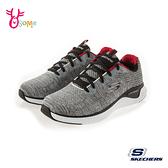 Skechers運動鞋 男鞋 SOLAR 記憶鞋墊 輕量運動鞋 健身房訓練鞋 慢跑鞋 T8217#灰色◆OSOME奧森鞋業