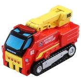 TOMICA 緊急救援隊 HR AC02 一秒變形車 工作車 TM39977 多美小汽車