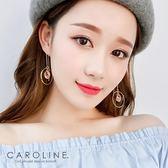 《Caroline》★韓國熱賣造型時尚浪漫風格優雅性感耳環70277