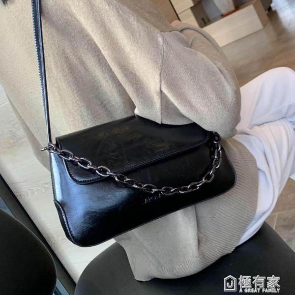 法國質感流行包包女新款潮復古網紅法棍包側背包高級感腋下包 全館鉅惠