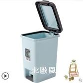 腳踩垃圾桶家用客廳臥室可愛有蓋廚房帶蓋衛生間創意腳踏式垃圾筒xw