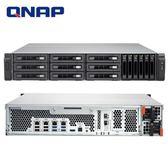 QNAP 威聯通 TVS-EC1580MU-SAS-RP-8GE-R2 15Bay NAS 網路儲存