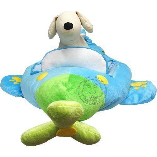 【培菓幸福寵物專營店】Love超可愛小飛機寵物睡窩《附有儀表板》