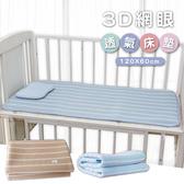 3D床墊 涼感床墊 嬰兒床墊 嬰兒床 【JA0009】四季嬰兒床超透氣3D立體可水洗床墊 嬰兒床墊