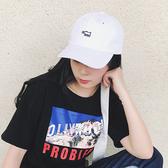 棒球帽 可愛 刺繡 軟頂 簡約 可調節 防曬 壓舌帽 遮陽帽 棒球帽【CF067】 icoca  08/08