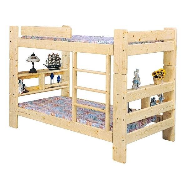 雙層床 AM-362-3 3.5尺白松木雙層床(不含床墊) 【大眾家居舘】