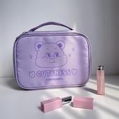 化妝收納包 化妝包女 可愛 少女 日系 小熊 ins風收納包便攜隨身洗漱包