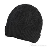 帽子男士冬秋天季潮保暖針織戶外騎車防寒防風套頭棉羊毛線瓜皮帽 交換禮物