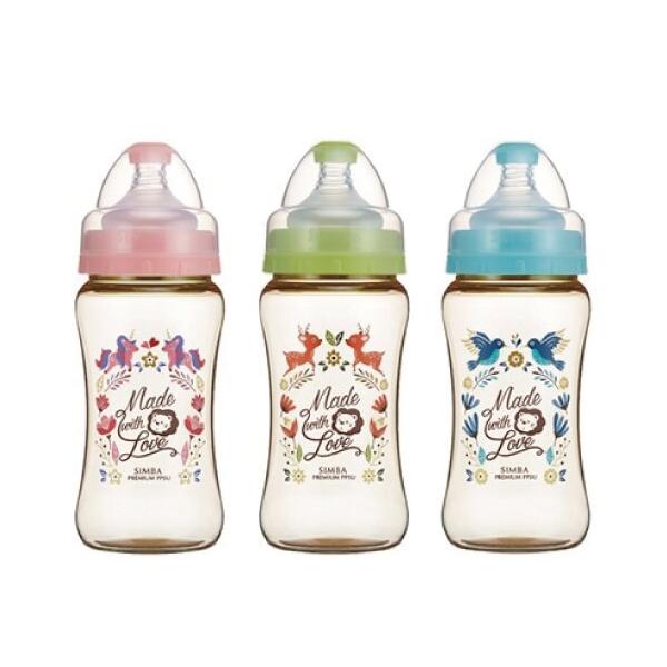 小獅王辛巴 simba 桃樂絲PPSU寬口雙凹中奶瓶270ml (三色可選)