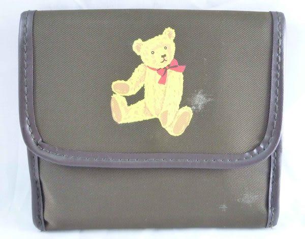 【震撼精品百貨】Holly's Bear 泰迪熊~短夾『咖啡』